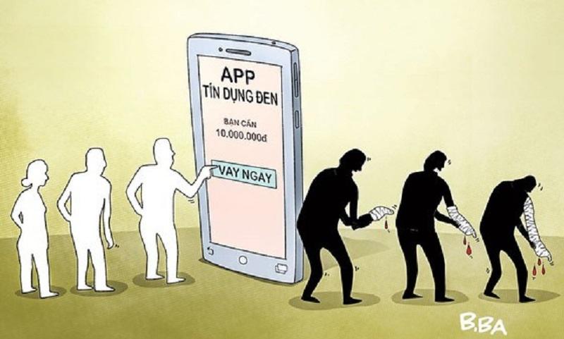Sập bẫy các app cho vay lãi suất cao, nếu người vay cố gắng trả được nợ sẽ được yên ổn.