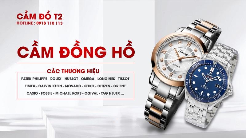 Dịch vụ cầm đồ uy tín T2 chuyên nhận cầm đồng hồ tại Tp HCM